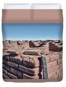 Coronado Monument Adobe Walls Duvet Cover