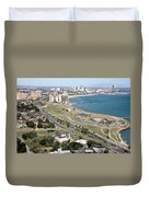 Corps Christi Skyline Duvet Cover