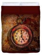 Corroded Time Duvet Cover