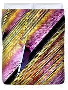 Corrugated Music Duvet Cover