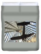 Corsairs In The National Marine Corps Museum In Triangle Virginia Duvet Cover