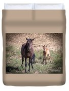 Cortez Colorado Mustangs Duvet Cover