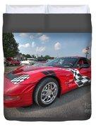 Corvette  Duvet Cover