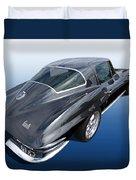 Corvette Stingray 1966 Duvet Cover