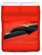 Corvette Torch Duvet Cover