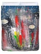 Cosmic Blue 67 Duvet Cover