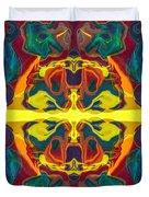 Cosmic Designs Abstract Pattern Artwork Duvet Cover