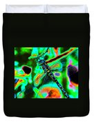Cosmic Dragonfly Art 1 Duvet Cover