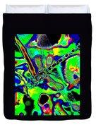 Cosmic Dragonfly Art 2 Duvet Cover