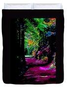 Cosmic Energy Of A Redwood Forest On Mt Tamalpais Duvet Cover