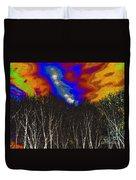 Cosmic Forces Duvet Cover