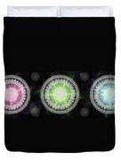 Cosmic Medallians Rgb 1 Duvet Cover