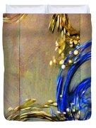Cosmic Mitochondria Duvet Cover