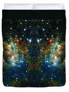 Cosmic Phoenix  Duvet Cover