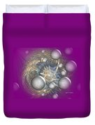 Cosmic Purple Duvet Cover