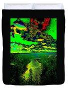 Cosmic River 2 Duvet Cover