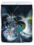 Cosmic Spider Duvet Cover
