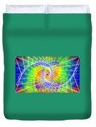 Cosmic Spiral Ascension 03 Duvet Cover