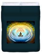 Cosmic Spiral Ascension 04 Duvet Cover