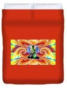 Cosmic Spiral Ascension 10 Duvet Cover