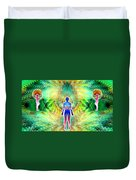 Cosmic Spiral Ascension 12 Duvet Cover