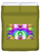 Cosmic Spiral Ascension 13 Duvet Cover