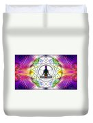 Cosmic Spiral Ascension 14 Duvet Cover