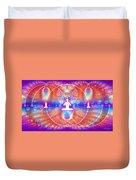 Cosmic Spiral Ascension 15 Duvet Cover