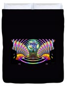 Cosmic Spiral Ascension 16 Duvet Cover