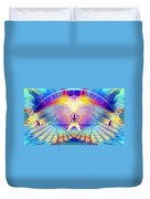Cosmic Spiral Ascension 20 Duvet Cover