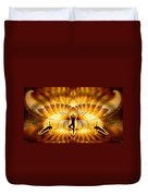 Cosmic Spiral Ascension 23 Duvet Cover