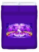 Cosmic Spiral Ascension 27 Duvet Cover