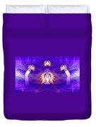 Cosmic Spiral Ascension 31 Duvet Cover
