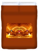 Cosmic Spiral Ascension 33 Duvet Cover