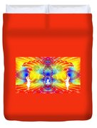 Cosmic Spiral Ascension 56 Duvet Cover