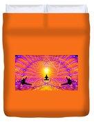 Cosmic Spiral Ascension 57 Duvet Cover