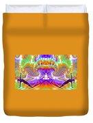 Cosmic Spiral Ascension 60 Duvet Cover