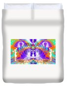 Cosmic Spiral Ascension 61 Duvet Cover