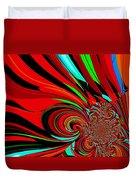 Cosmic Wimpout 1980 Duvet Cover