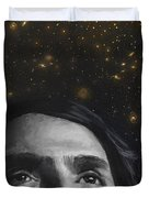 Cosmos- Carl Sagan Duvet Cover