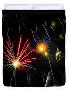 Cosmos Fireworks Duvet Cover
