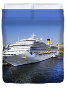 Costa Cruise Ship Duvet Cover