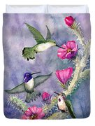 Costa Hummingbird Family Duvet Cover