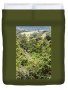 Costa Rica Zip Line View Duvet Cover