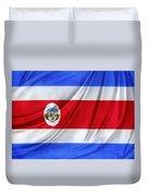 Costa Rican Flag Duvet Cover