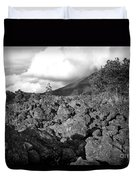 Costa Rican Volcanic Rock  Duvet Cover