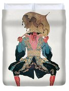 Costume Design For A Chinaman Duvet Cover