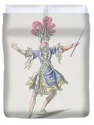Costume Design For The Magician Duvet Cover