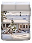 Cosy In Winter Duvet Cover