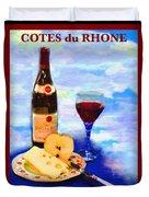 Cotes Du Rhone Duvet Cover